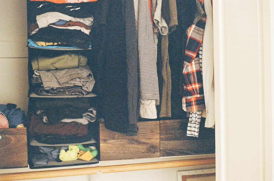 Which clothes from your closet do you actually need in your new Hollywood home?