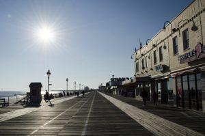 Broadwalk in New Jersey