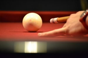white ball for pool