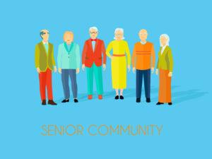 senior community poster
