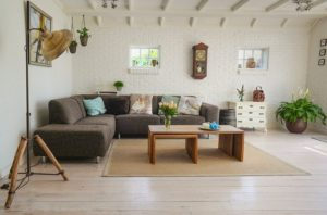 Living room - Get some ideas and find out how to make your living room look bigger.