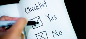 A checklist to help yu make a plan and eventually make a small place work for you.