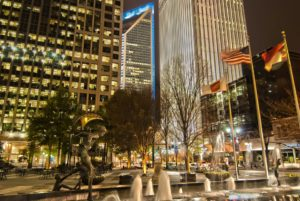 Take a walk down the streets after moving to Charlotte with a family