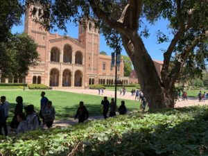 UCLA building