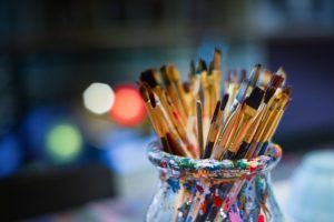 Brushes - Take your time when deciding - Hollywood vs. NYC - what is the best place to live for artists.