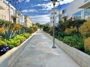 LA street.