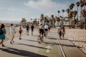 A LA beach that you can visit after you move to one of the best neighborhoods in Los Angeles.