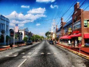 A street in Delaware