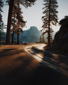 California landscape.