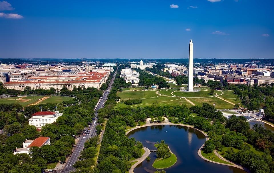 Panorama of Washington DC.