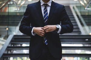 Man in a suit