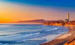 Californian coast.