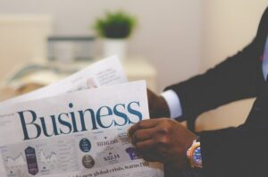 Business Man Newspaper - 3 reasons to expand your business to Texas