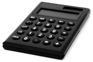A calculator to cut the costs and to try to move on a budget as finances are one of the main causes of stress when moving.