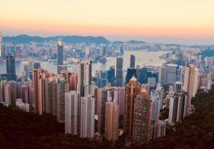 Hong Kong, buildings.