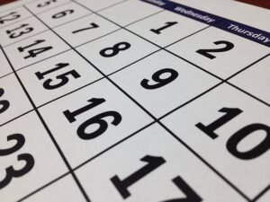 Calendar - Even if you have less than a week to organize your move from Florida to California, you should know that there are many ways you can make that happen.